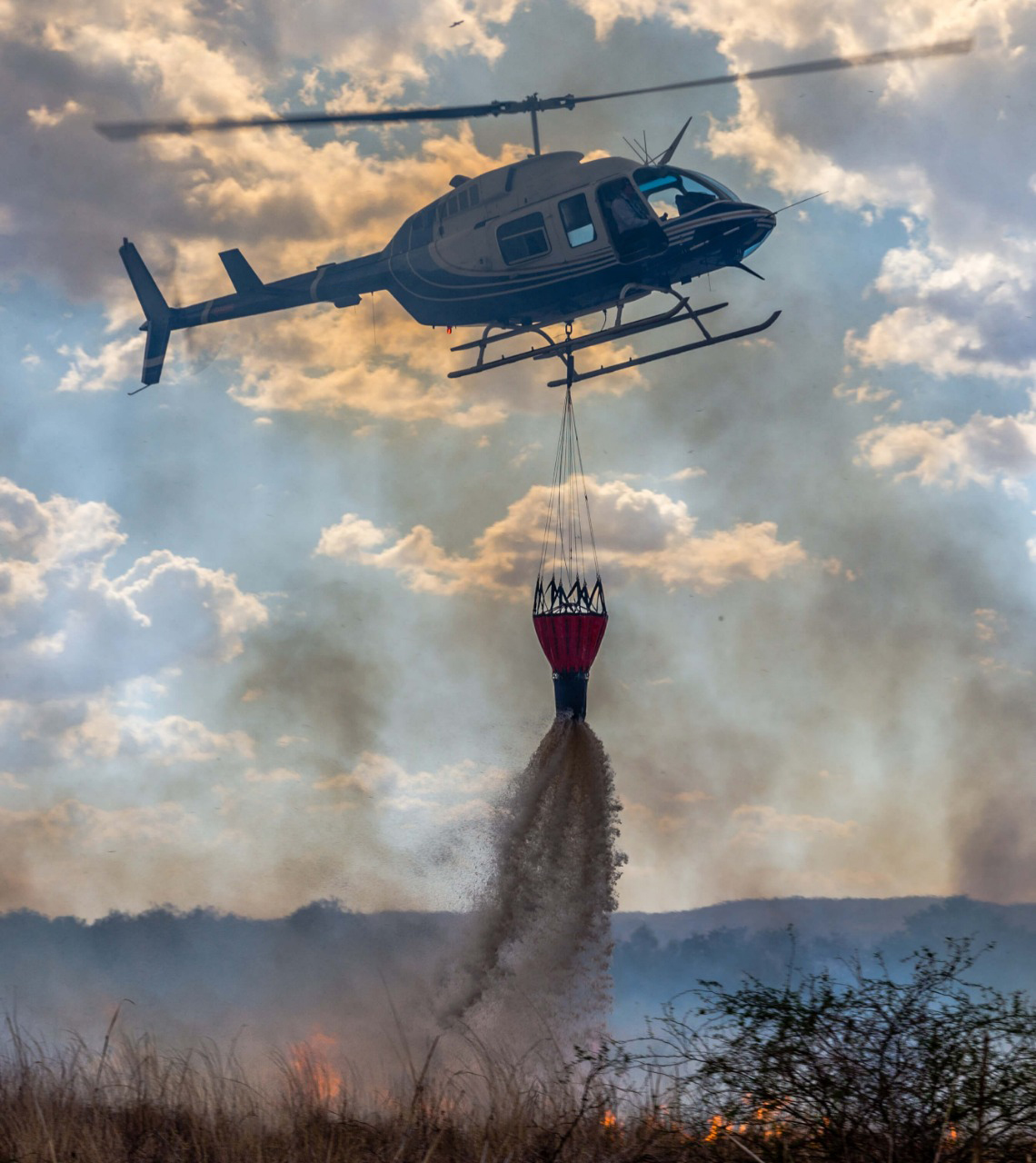 aerial fire-fighting
