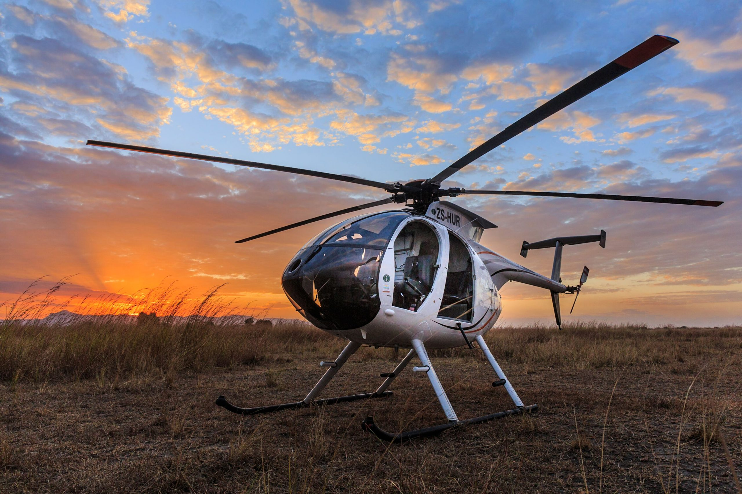 helicopter wildlife management